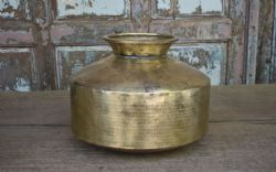 Old Brass Water Pot